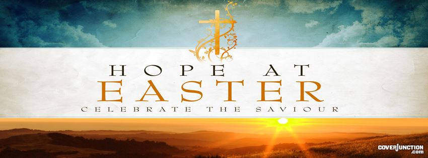 Hope at Easter facebook cover
