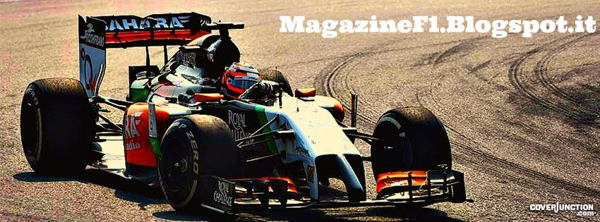 Nico Hulkenberg (GP Malesia 2014) - MagazineF1 facebook cover