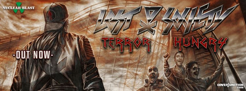 Lost Society - Terror Hungry - Out Now! facebook cover