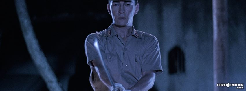 Merry Christmas Mr. Lawrence -- Ryuichi Sakamoto with his weapon drawn facebook cover