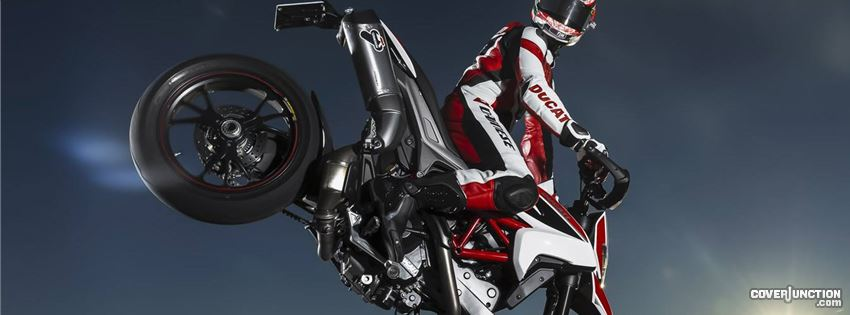 Ducati Hypermotard facebook cover