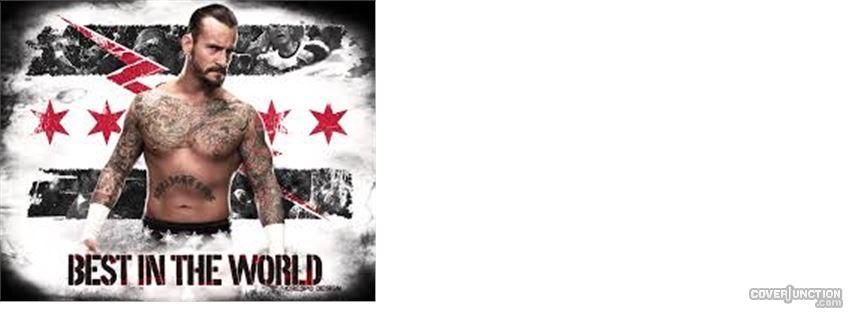 CM Punk Facebook Cover