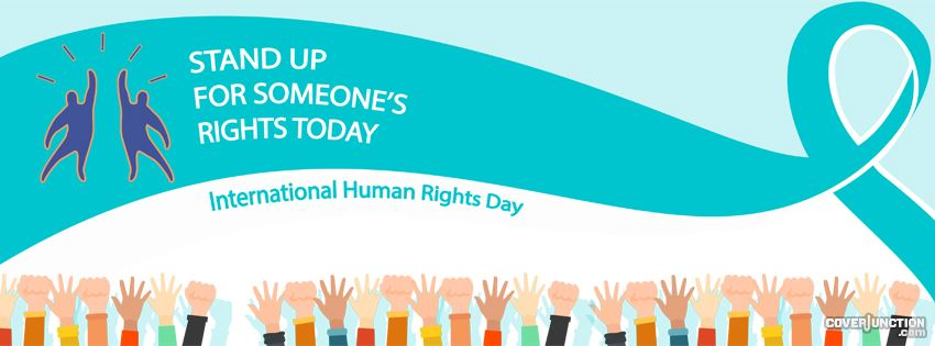 International Human Rights Day facebook cover